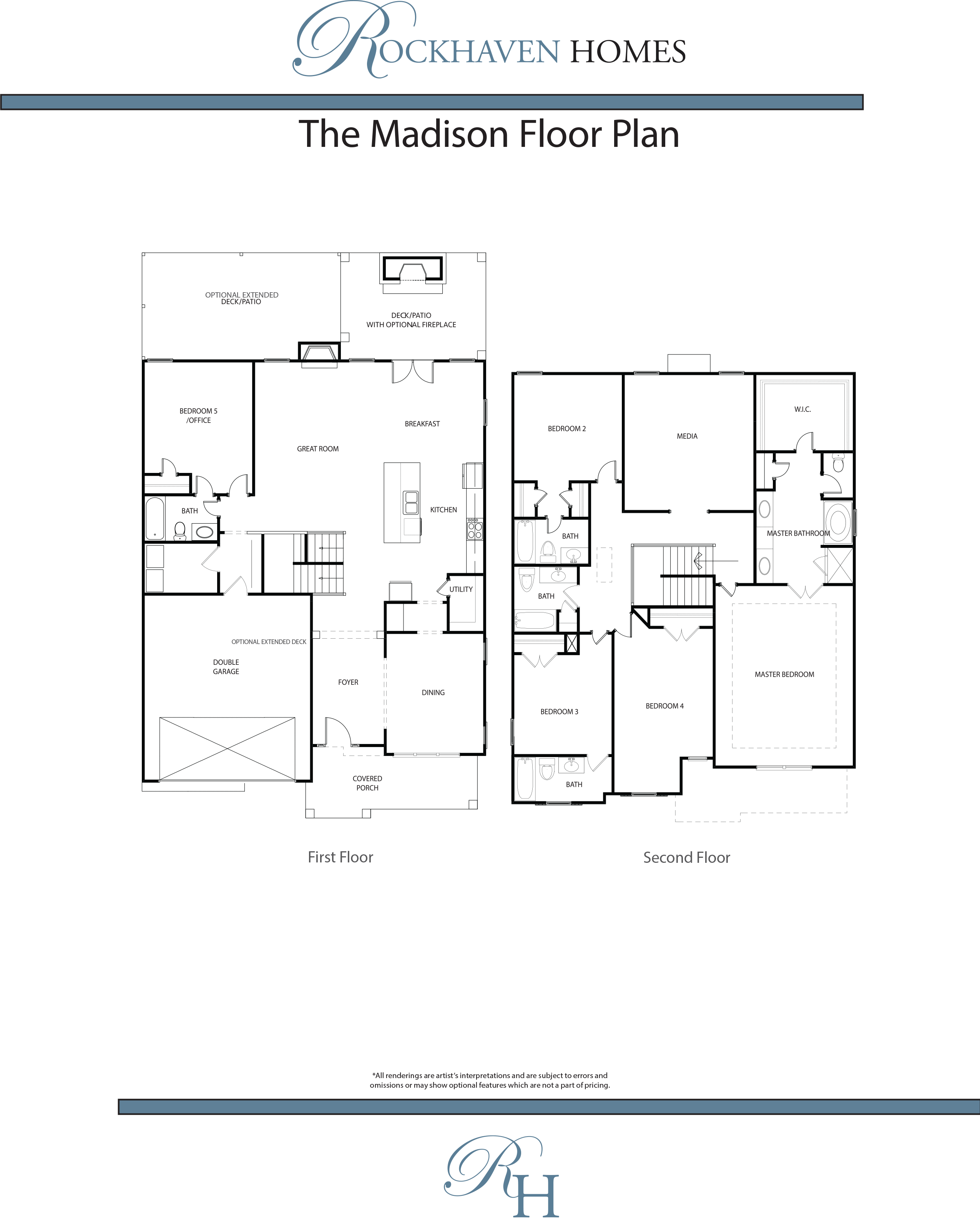 the madison rockhaven homes floor plan