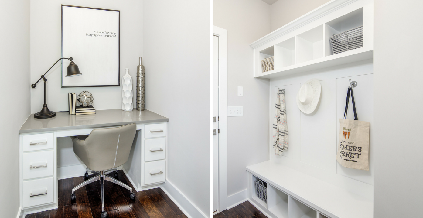 Built-Ins in the townhomes at Reserve at City Center