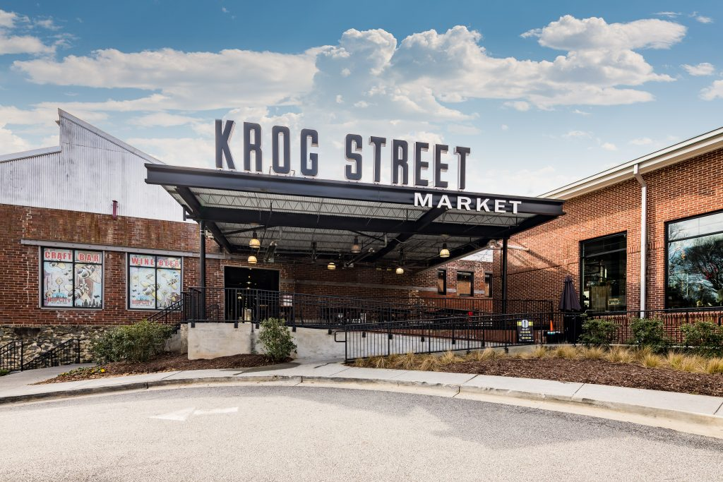 Minutes from our East Atlanta townhomes - explore the artisanal dining/ shopping at Krog Street market