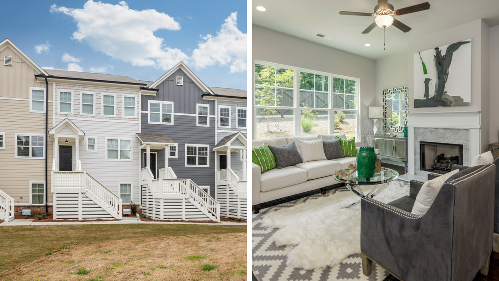 Luxurious Townhomes Available Now in East Atlanta