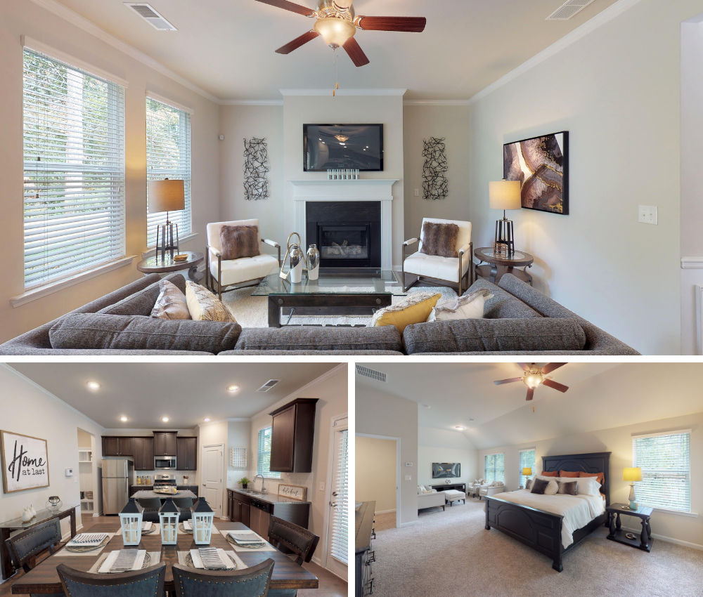 Comfortable Living Space in our new Phillips Trace model home