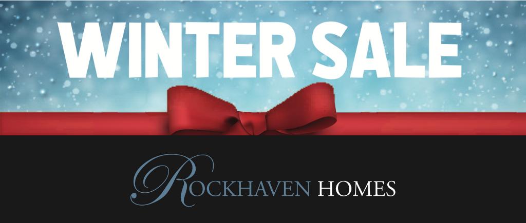 Rockhaven Homes Winter Sale Event