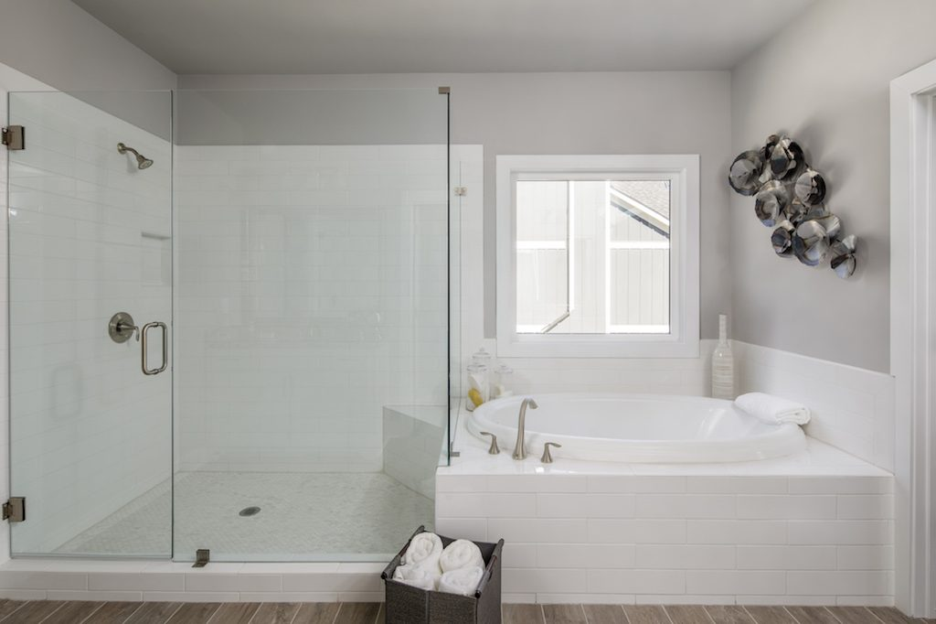 Create a Tranquil Master Bath in Your New Home