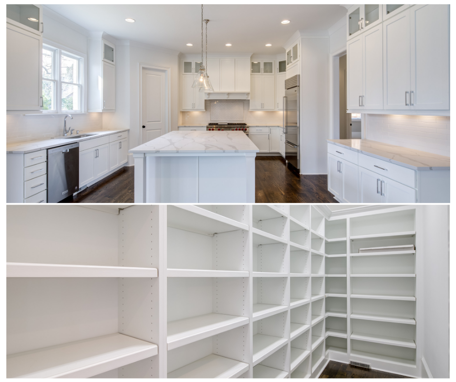 Spacious kitchen and closet nooks - Rockhaven Homes