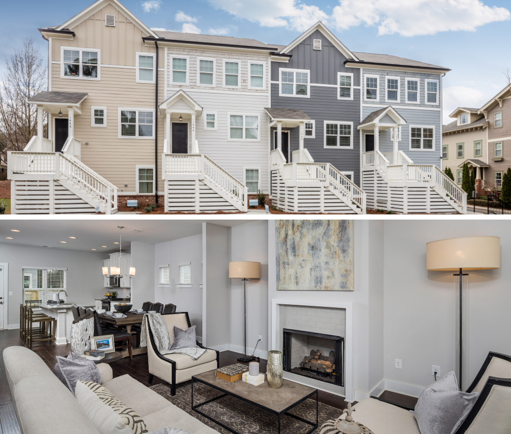 3-story East Atlanta townhomes await you in Eastland Gates