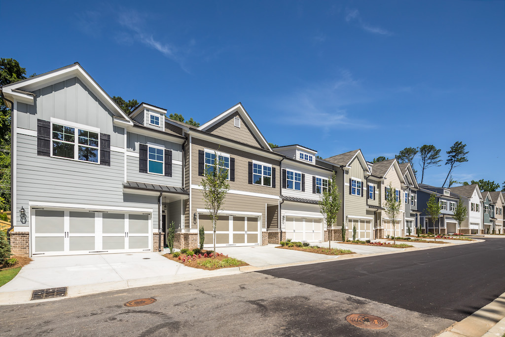 Now's the perfect time to fall in love with the townhomes of Par at Chastain