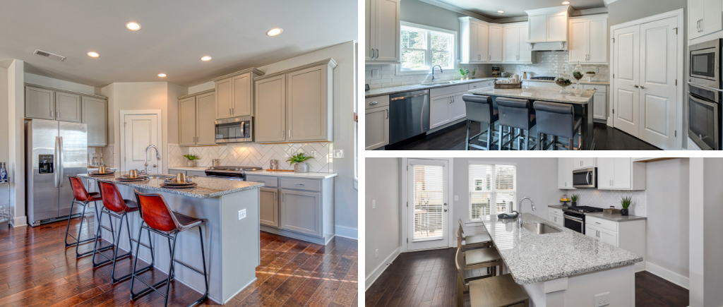 Kitchens come in many compositions depending on the type of home you're buying.