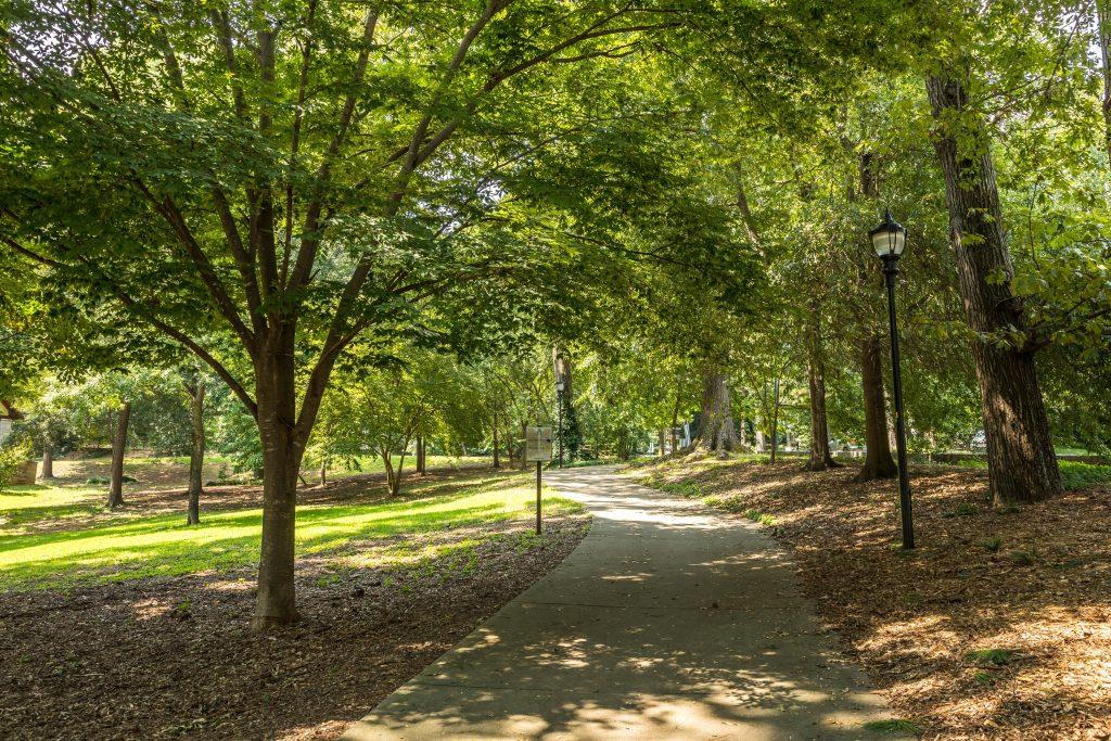 A public park in the Atlanta area