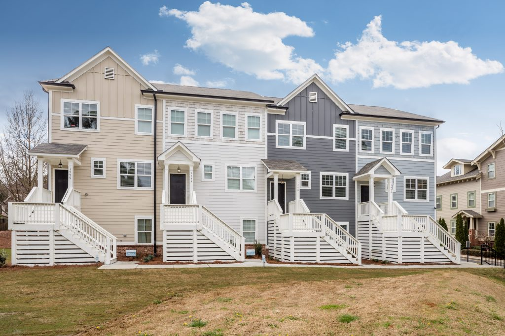 The townhomes at Eastland Gates