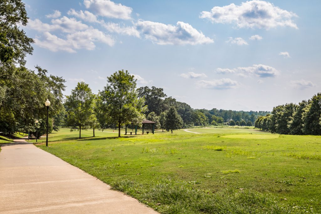 Chastain park is a short drive away from your townhome in Sandy Springs