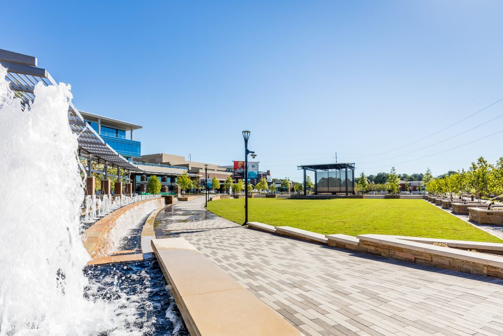 City Springs, a walkable Sandy Springs destination