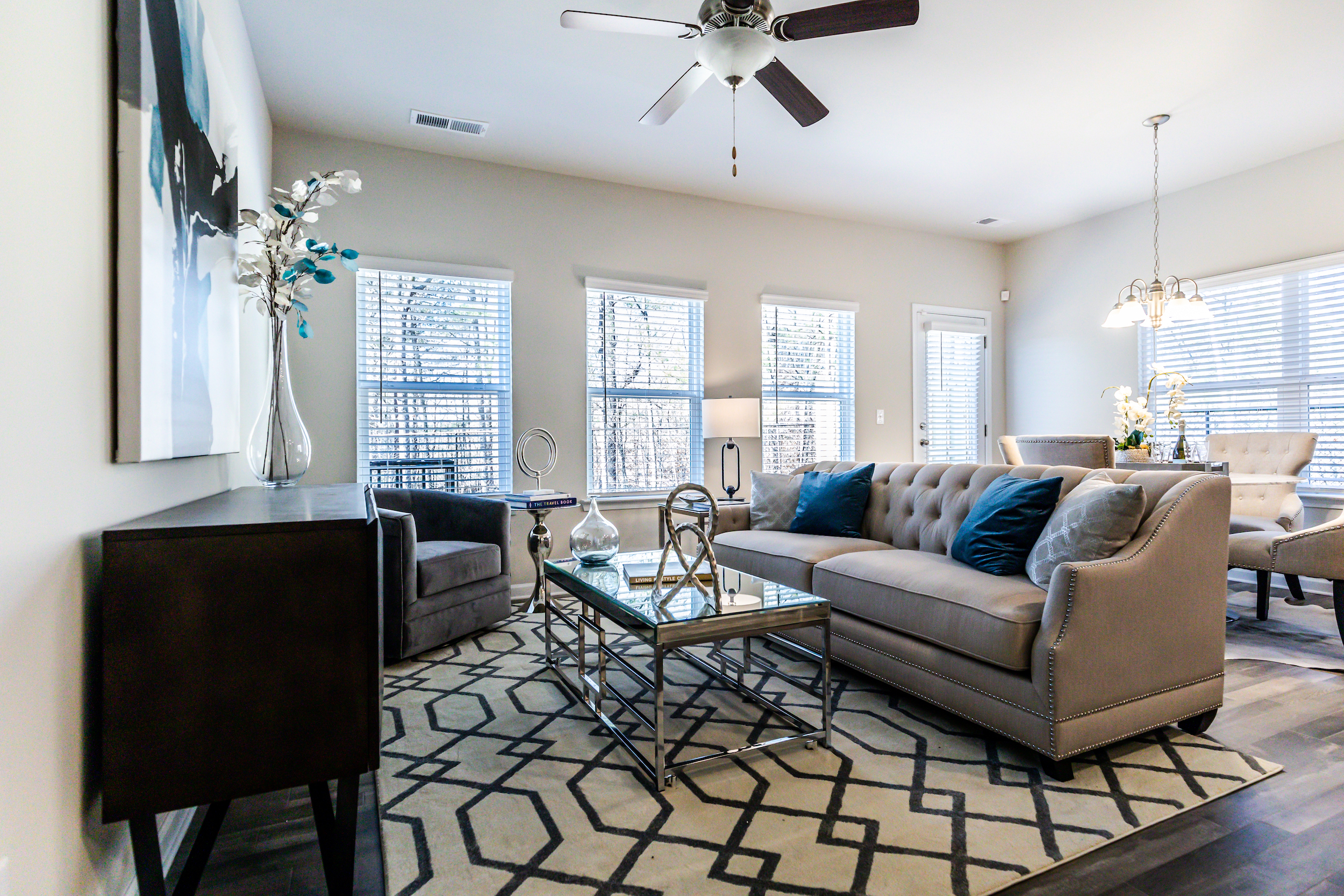 Living Room features at High Grove