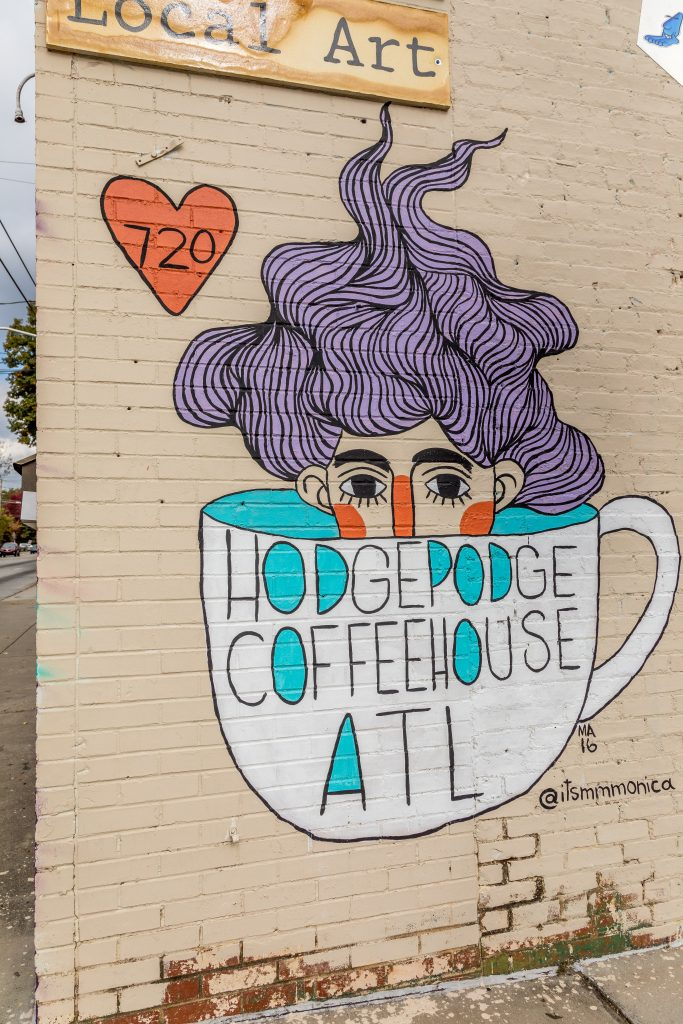 East Atlanta Attractions - Hodgepodge CoffeeHouse