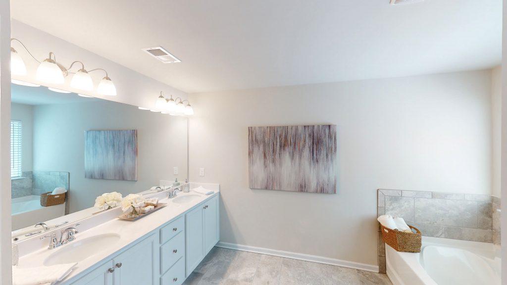 The Rosedale Master Bathroom