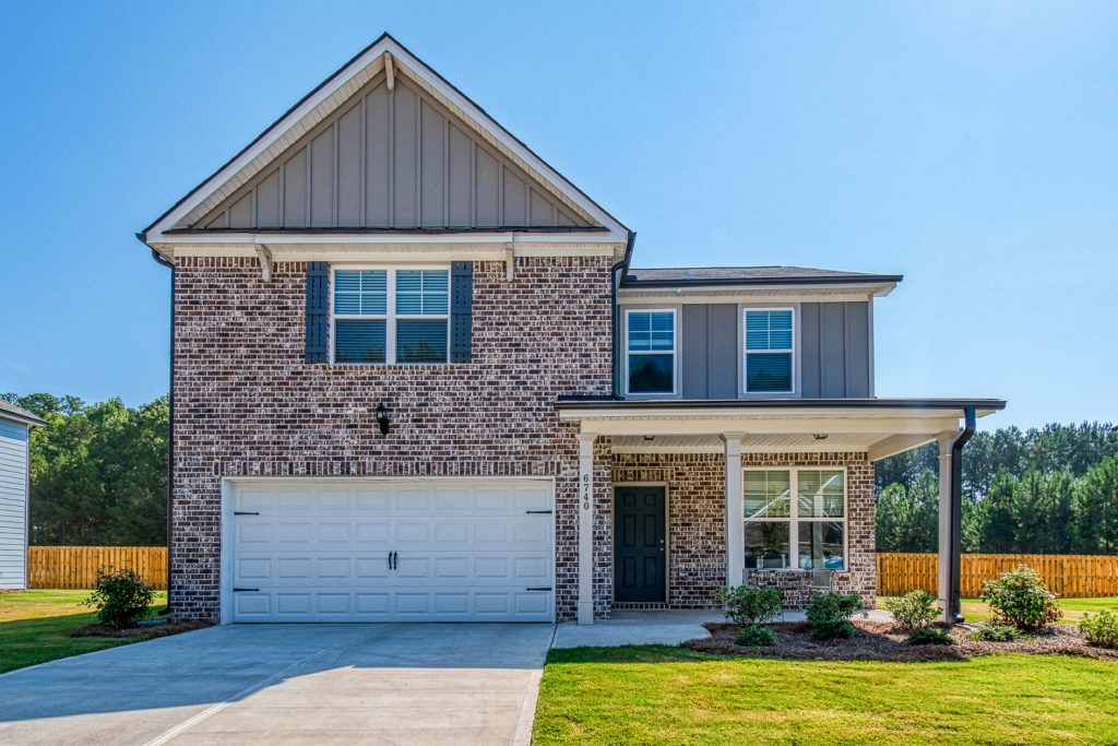 A new construction home in Lakeview at Stonecrest