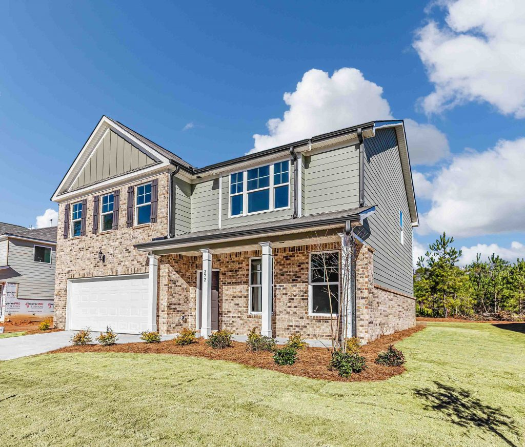 Clifton floor plan - new construction single-family home in Loganville