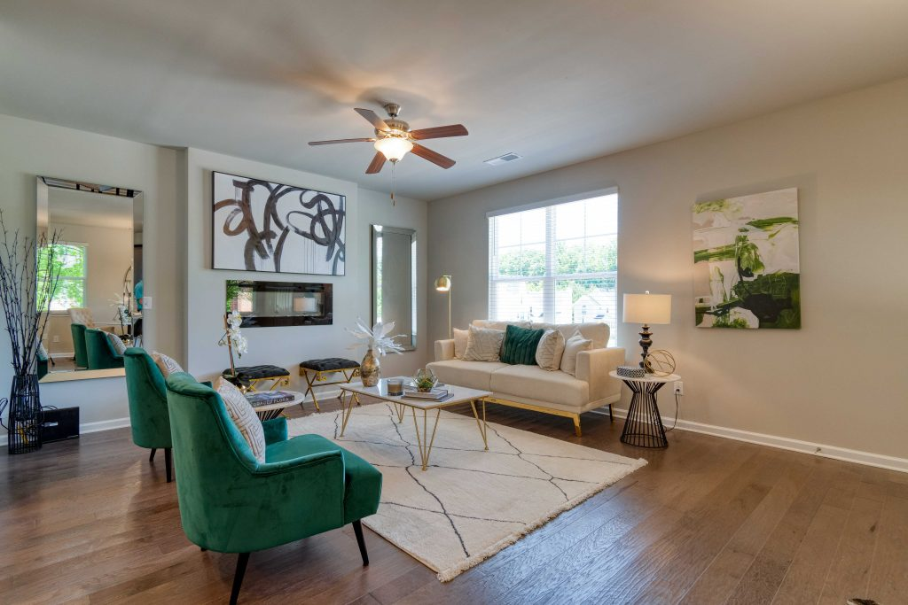 The inside of a sweetbriar home, a new metro atlanta subdivision