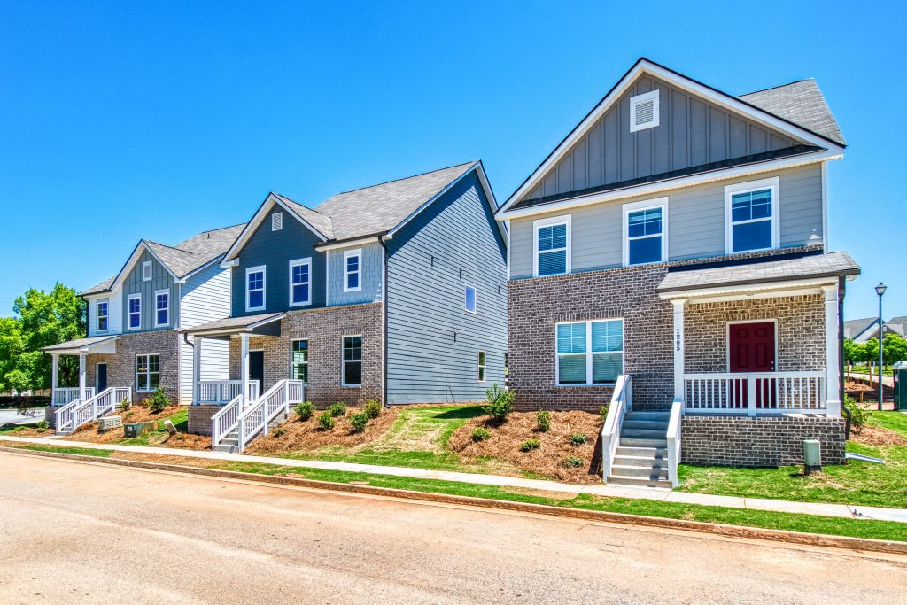 Sweetbriar, a new subdivision in Atlanta