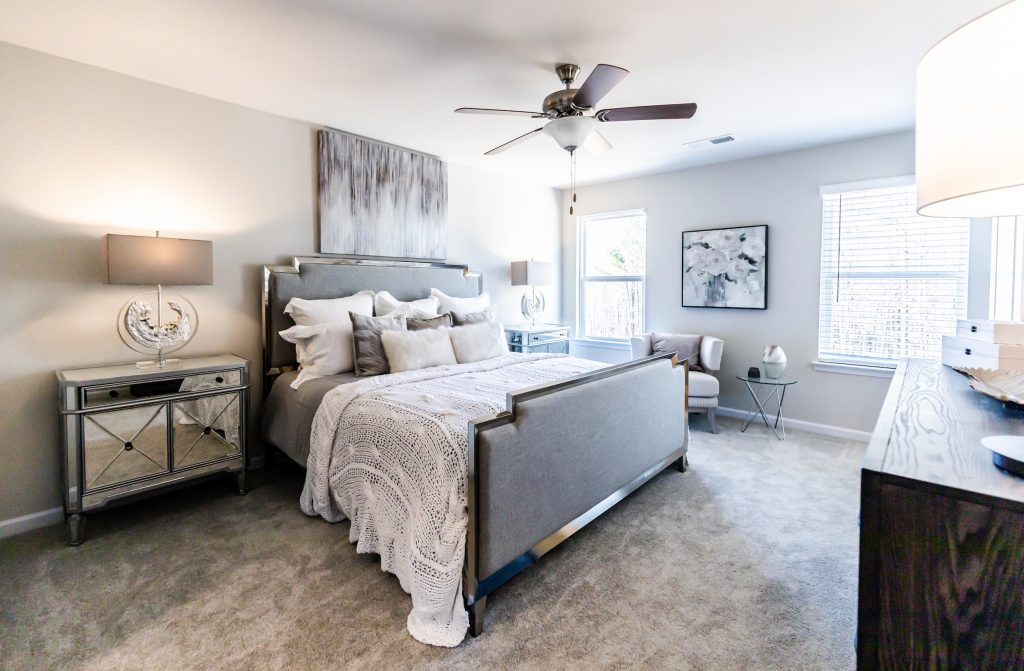 Master Bedroom in the Abbot Floor Plan by Rockhaven Homes