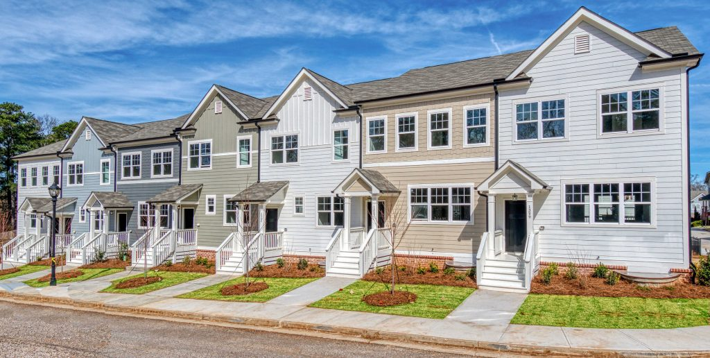 Townhomes in Eastland Gates