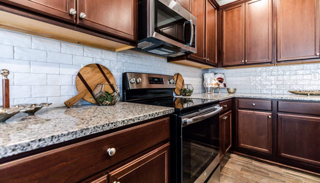 standard features in a cornerstone home kitchen