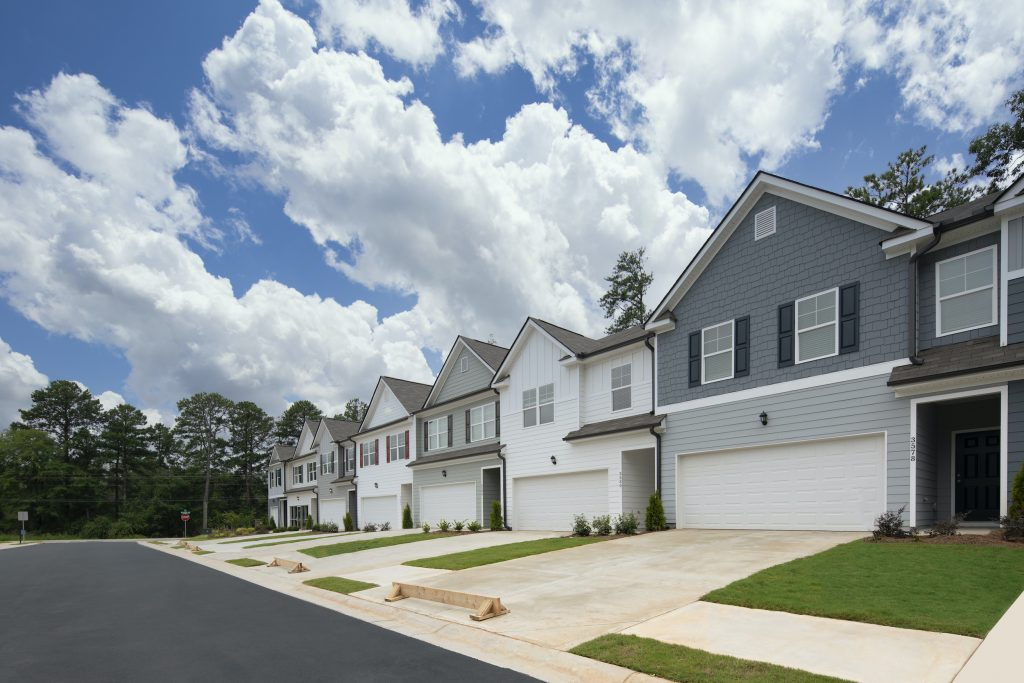 Townhomes with 2-car garages - available in several of our Metro Atlanta communities