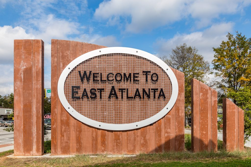 New homes in Metro Atlanta near attractions such as East Atlanta