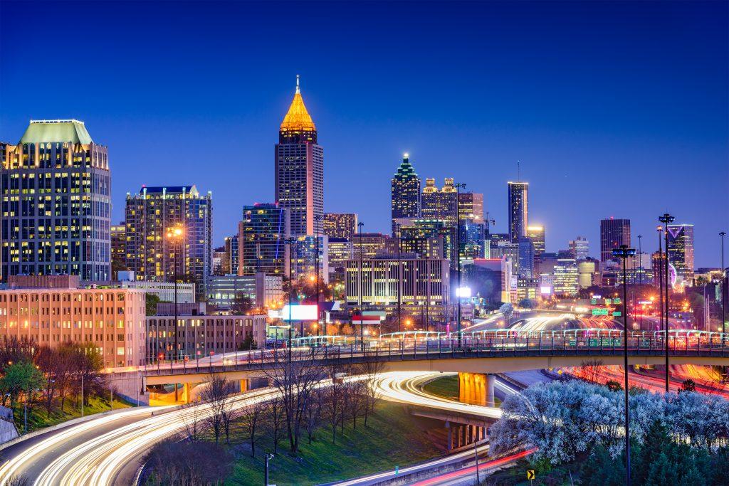 Atlanta Georgia skyline Sean Pavone (c) 123rf