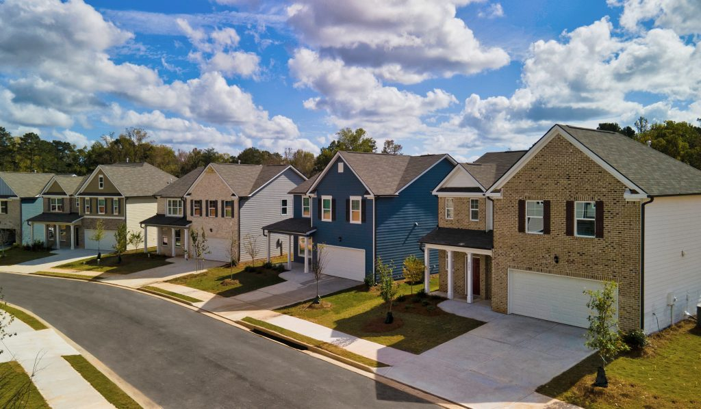 Single family homes in Lakeview at Stonecrest - The Summit