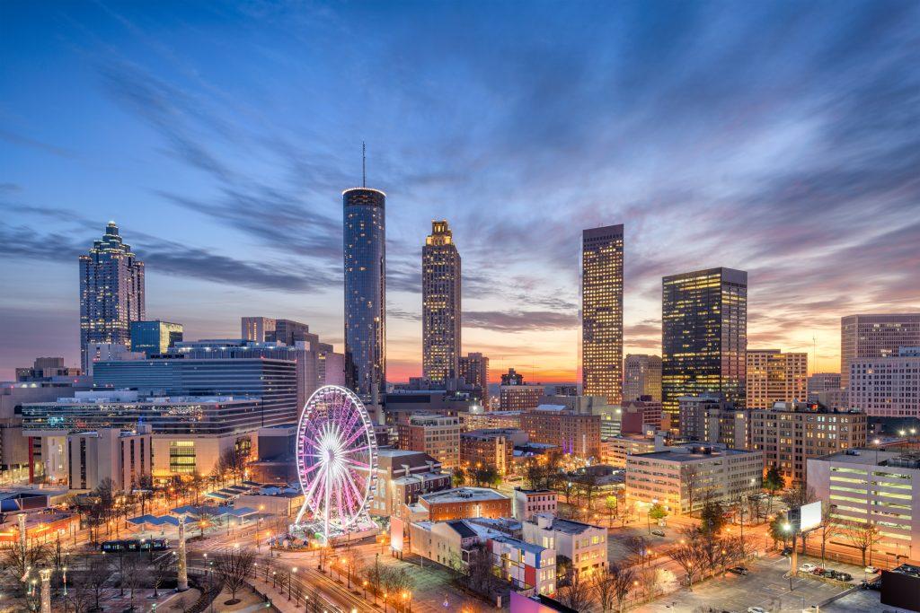 Atlanta lifestyle skyline
