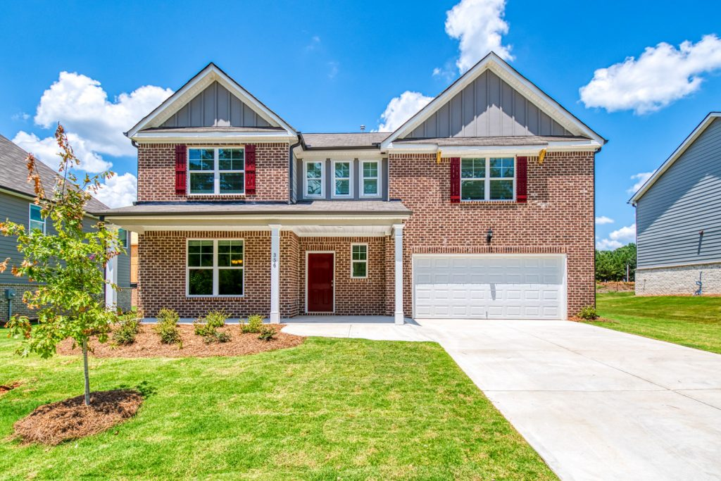 The Eastwood Floor Plan in Jefferson Downs - one of our new construction homes near Athens, GA