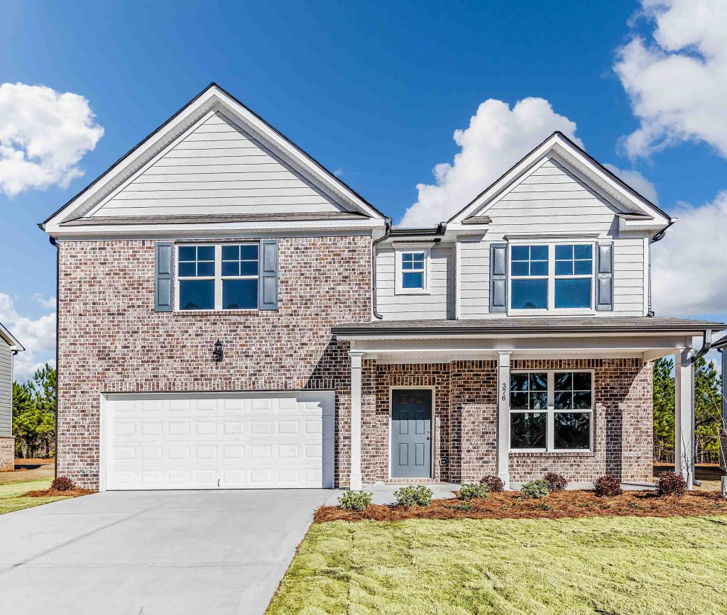 The Windsor Floor Plan in Jefferson Downs - one of the new construction homes near Athens, GA
