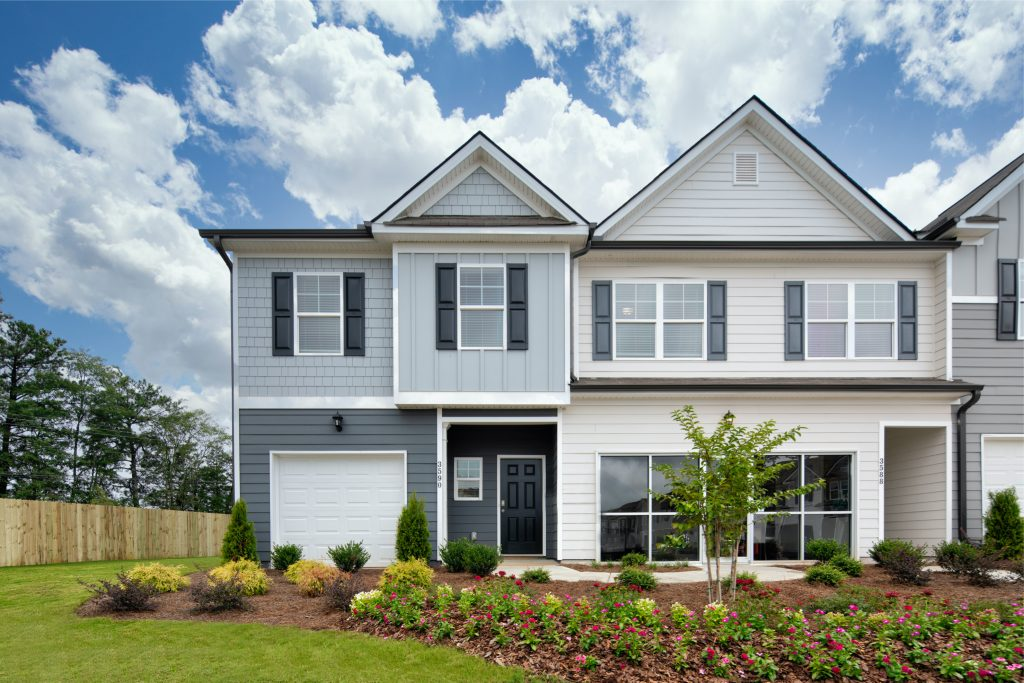 gorgeous Rockhaven Homes townhome in Atlanta