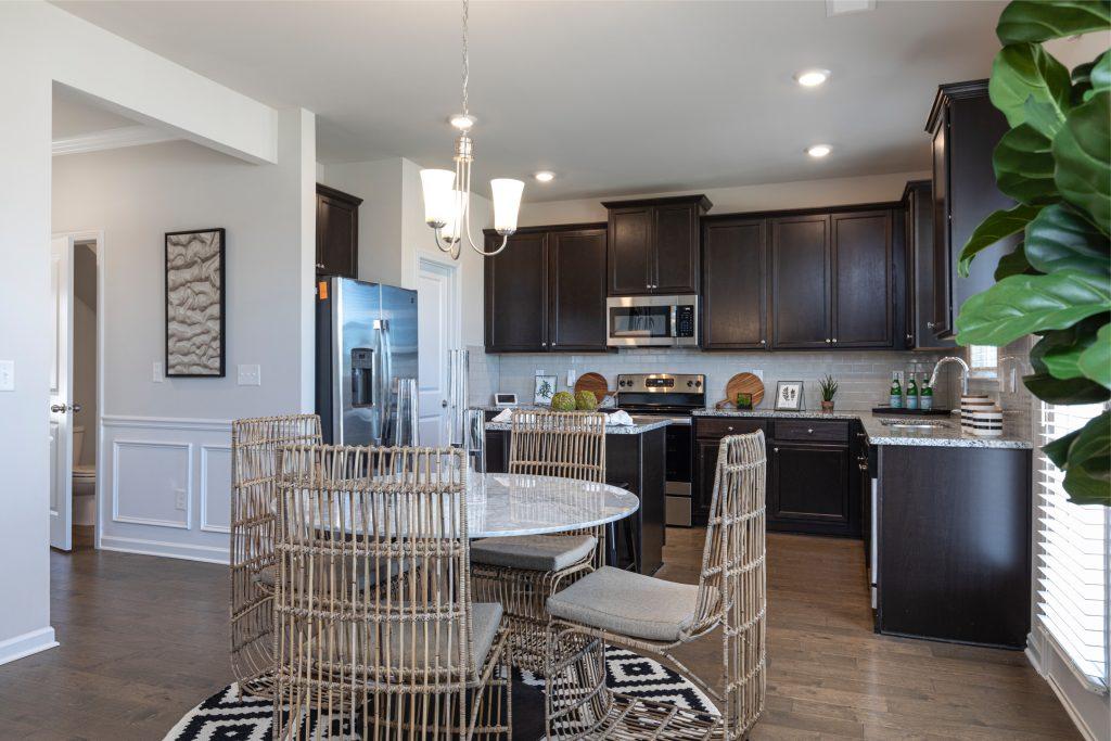 new kitchen in Cornerstone by Rockhaven Homes